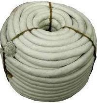 Термошнур d20мм. 1260С плетенный керамический бухта 10 кг.
