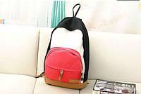 Молодежный Рюкзак! в наличии Цвет  Чёрный+красный,Оригинал ,высококачественный,  фабричный!, фото 1