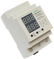 Реле защиты сети ADECS ADC-0111-40 однофазное по напряжению и по току 40 А для защиты электросети всего дома