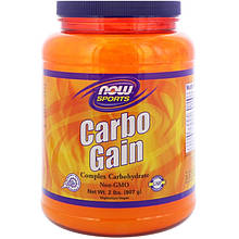 "Мальтодекстрин NOW Foods, Sports ""Carbo Gain"" в порошке (907 г)"