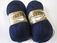 ANGORA GOLD 58 темно-синий - 20% шерсть, 80% акрил