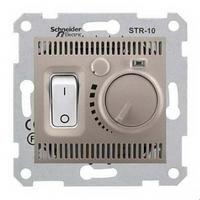 Механизм термостата для тёплых полов титан Schneider Electric Sedna