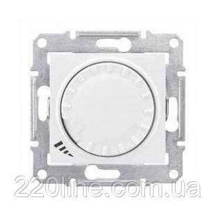 Механизм светорегулятора, 40-600 Вт универсальный белый Schneider Electric Sedna