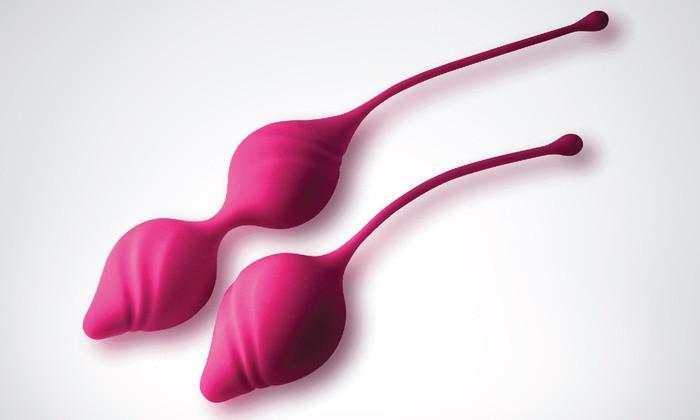 Набор вагинальных шариков Rocks Off Hold Me Tight - Kegel Toning kit