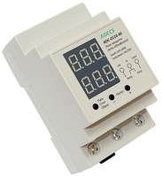 Реле защиты сети ADECS ADC-0110-40 однофазное по напряжению и по току 40 А для защиты электросети всего дома