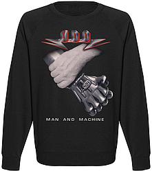 Свитшот U.D.O. - Man And Machine (чёрный)