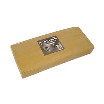 Пластилин скульптурный мягкий, 1 кг, телесный ГАММА