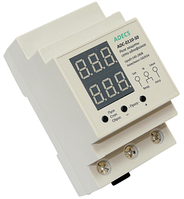 Реле защиты сети ADECS ADC-0110-50 однофазное по напряжению и по току 50 А для защиты электросети всего дома