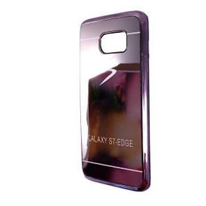 Чехол-накладка DK-Case силикон Blex зеркало для Samsung S7 edge (grey)