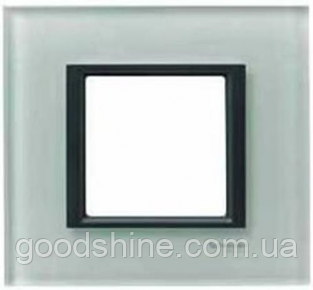 Рамка 1 пост матовое стекло Schneider Electric Unica Class