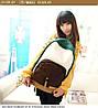 Школьный  Молодежный Рюкзак! в наличии Цвет Зелёный +Коричневый ,Оригинал ,высококачественный,  фабричный!