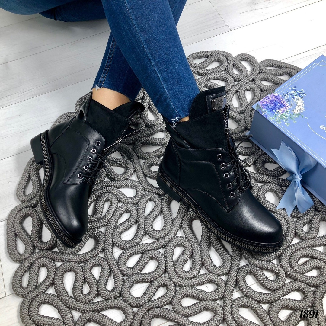 Модные ботинки осень