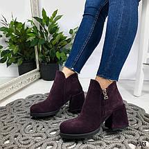Замшевые ботинки, фото 2