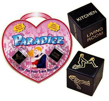 Игральные кубики PARADICE