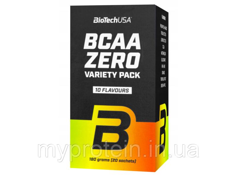 BioTechBCAAbcaa zero variety pack20 sachets
