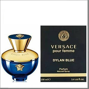 Versace Pour Femme Dylan Blue парофюмированная вода 100 ml. (Версаче Пур Фем Дилан Блю)