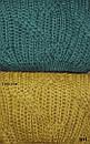 Укороченный женский вязаный свитер из объемной вязки 82ddet590, фото 2