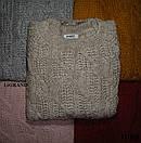 Женский вязаный свитер с шерстью с воротником стойкой 82ddet594, фото 3