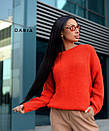 Свободный женский вязаный свитер на каждый день 55ddet602, фото 4