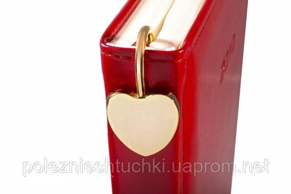 """Закладка для книг металлическая """"Сердечко - Jardin d'ete"""" золотистая"""