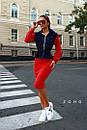 Женский юбочный костюм с джинсовым верхом и юбкой - карандаш 80kos194, фото 3