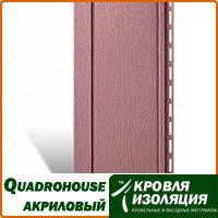 Панель Quadrohouse, акриловый сайдинг, Jazz metal; 3,1х0,205м
