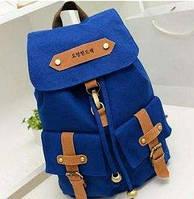 Школьный Оригинальный Рюкзак  В наличии Цвет Голубой,Оригинал,высококачественный ,фабричный, фото 1