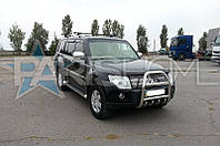 Кенгурятник Кенгур Передняя защита V5 Mitsubishi Pajero Wagon IV 2007-