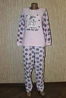 """Женская махровая пижамка с тапочками и ночником """"Пингвин"""") Турция"""