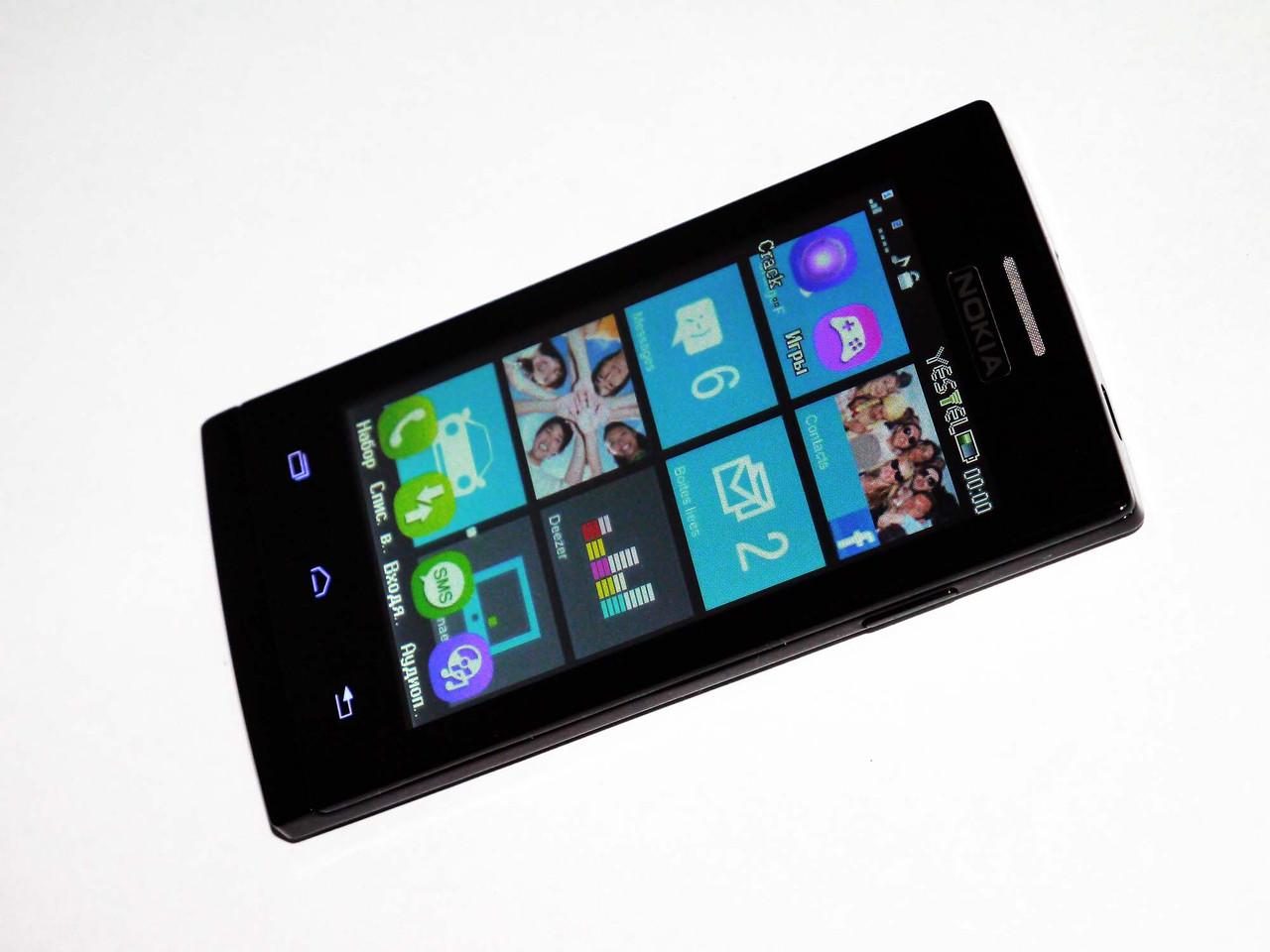 Телефон Nokia Lumia 630 Черный - 2Sim+ Чехол