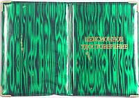 Обложка для пенсионного удостоверения «Юпитер» цвет зелёный