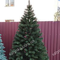 Литая елка Буковельская 1.50м. зеленая  (Бесплатная доставка)