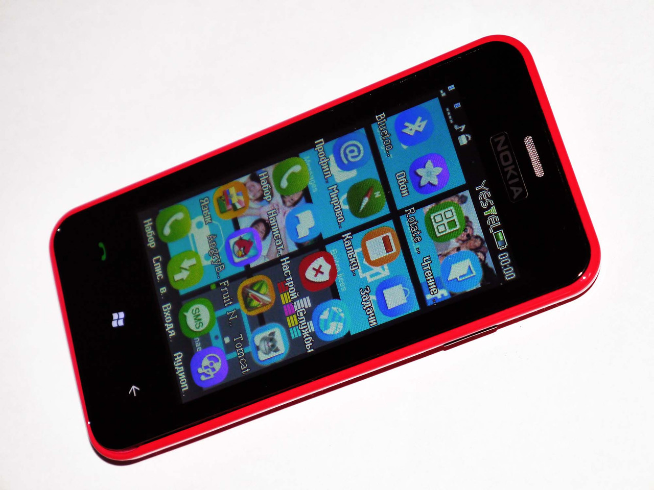 "Телефон Nokia Lumia 620 Розовый - 2Sim+ 3,6"", фото 1"
