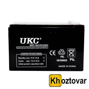 Аккумулятор Battery 12V 12A UKC