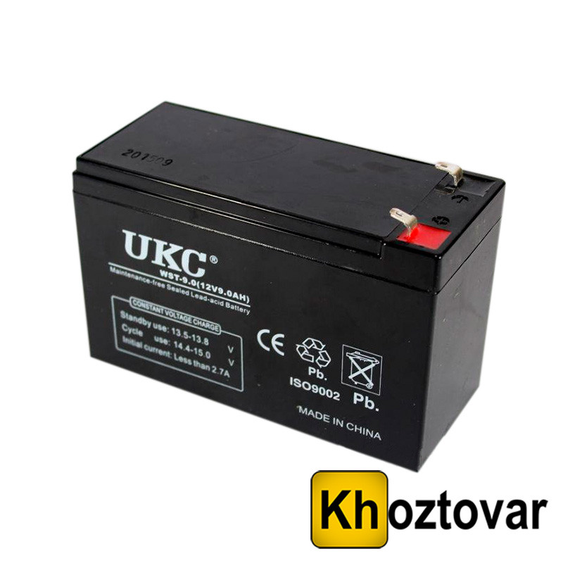 Акумулятор Акумулятор 12V 9A UKC