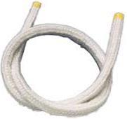 Керамический уплотнительный шнур. термостойкий для твердотопливных котлов