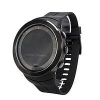 Годинник з компасом і крокоміром Skmei 1403 Black