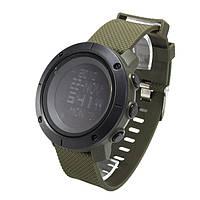 Годинник з компасом і крокоміром Skmei 1430 Green