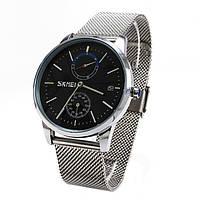 Годинник Skmei 9182 Silver Black