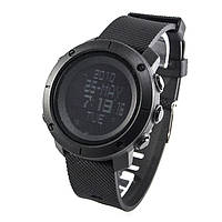 Часы с компасом и шагомером Skmei 1430 Black