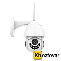 Беспроводная купольная поворотная камера для наружного видеонаблюдения