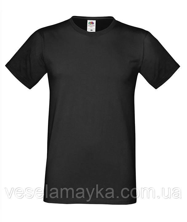 Черная мужская футболка (Премиум)