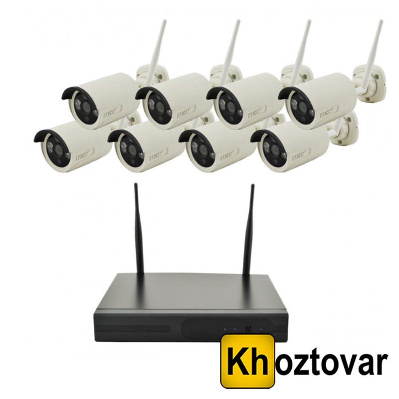 Беспроводной комплект видеонаблюдения на 8 камер DVR KIT CAD 8008