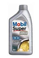 Моторное синтетическое масло Mobil Super 3000 FE 5W-30 1L (ACEA A5/B5, Ford WSS-M2C913-C)