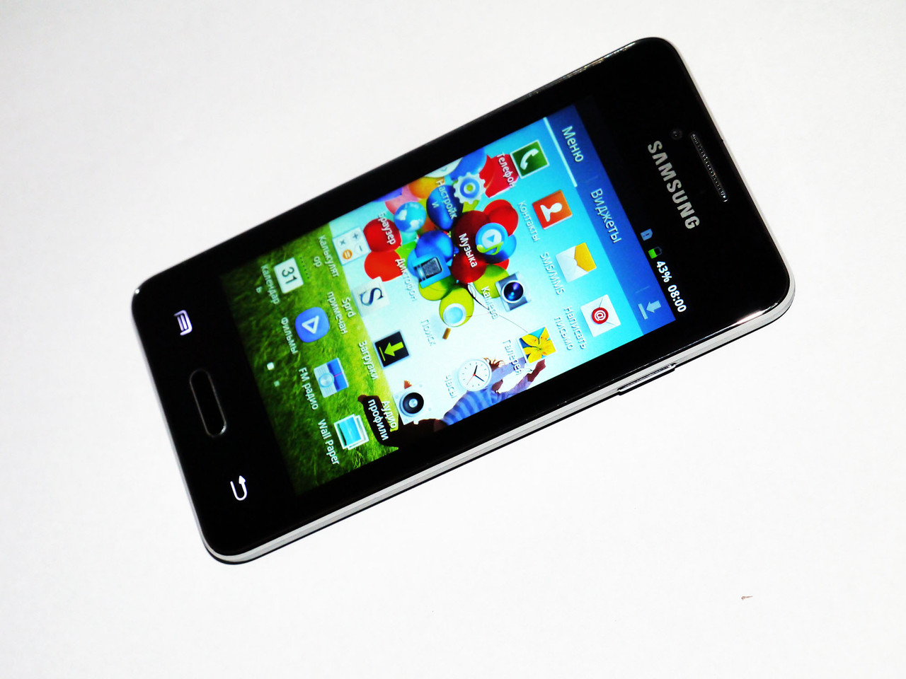 Samsung Galaxy Note3 N900 - 4''+2Sim+Android+ЧЕХОЛ, фото 1