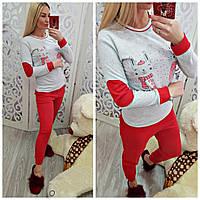Женская теплая пижама Турция 0500, фото 1