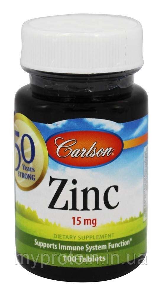 Carlson LabsЦинкZinc 15 mg100 tabs