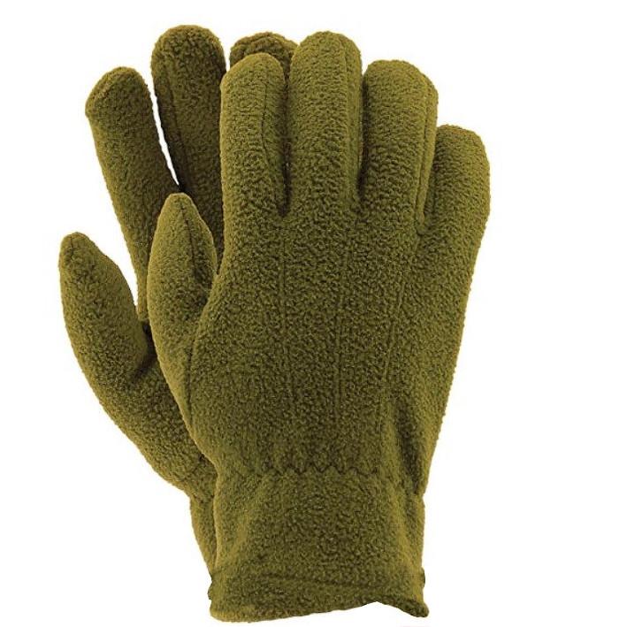 Перчатки флисовые Reis «Олива»
