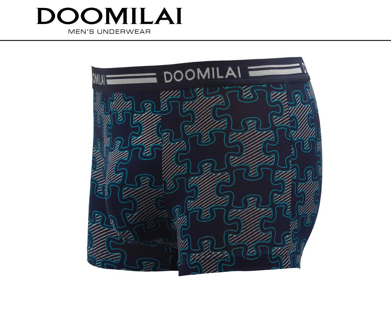 Мужские боксеры стрейчевые из бамбука  Марка  «DOOMILAI» Арт.D-01195
