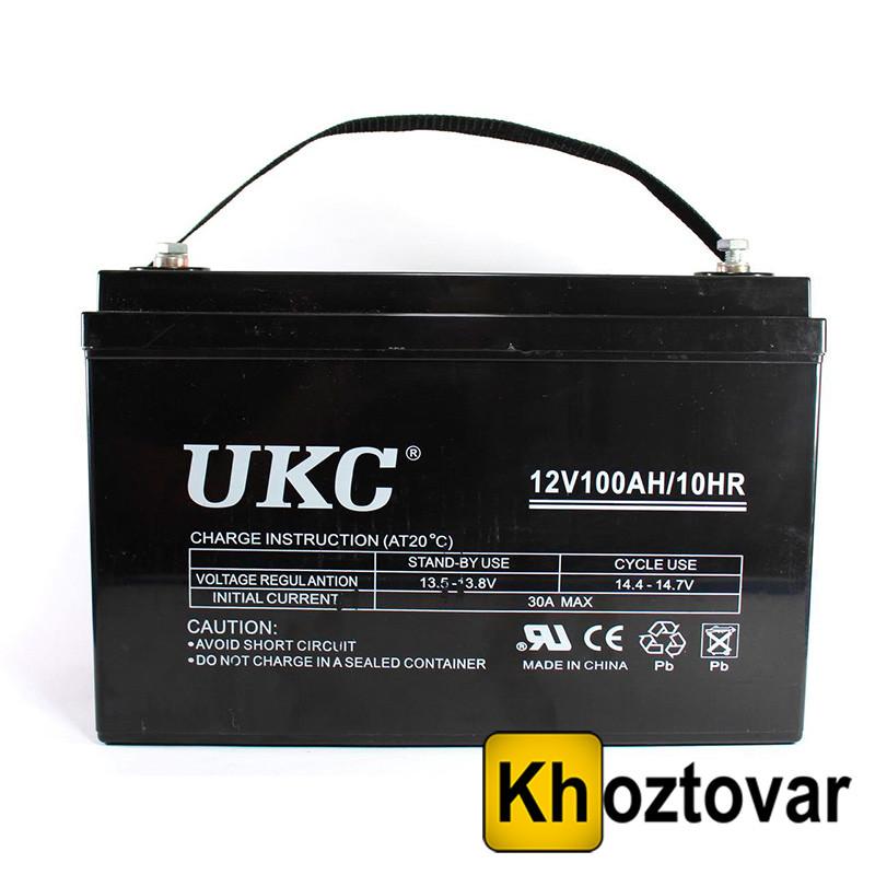 Гелевый аккумулятор UKC Battery sky audio Gel 12V 100A